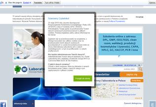 Website laboratoria.net desktop preview
