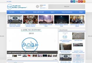 Website ladik.org desktop preview