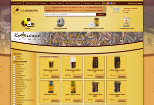 Website lasemeuse.ua desktop preview