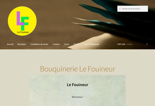 Website lefouineur.ch desktop preview