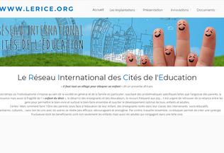 Website lerice.org desktop preview