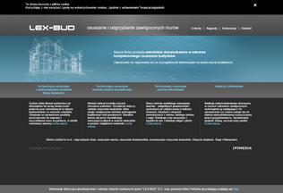 Website lexbud.biz desktop preview