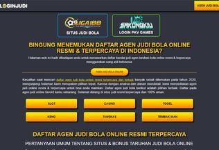 Website liga188.info desktop preview