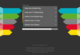 Website livemobiletv.in desktop preview