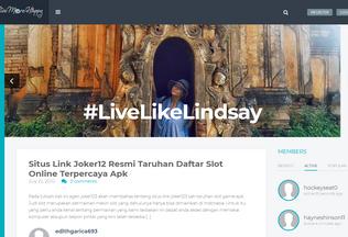 Website livemorehappy.co desktop preview