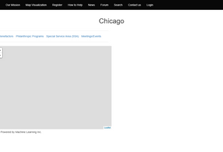 Website localcollaborative.org desktop preview