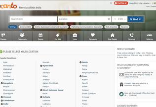 Website locan.to desktop preview