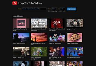 Website loopvideos.com desktop preview