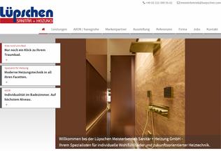 Website luepschen.com desktop preview
