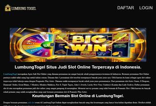 Website lumbungsg.com desktop preview