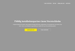 Website luminuskoepke.se desktop preview