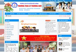 Website lythuongkiet-nuithanh.edu.vn desktop preview