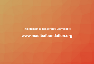 Website madibafoundation.org desktop preview