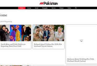 Website magpakistan.com desktop preview