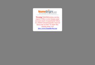 Website mailmedication.com desktop preview