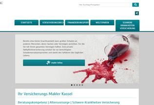 Website makler-kassel.net desktop preview