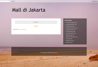 Website malldijakartapusat.blogspot.com desktop preview