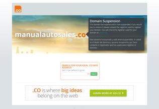 Website manualautosales.co desktop preview