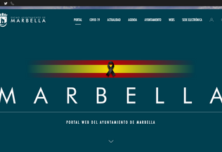 Website marbella.es desktop preview