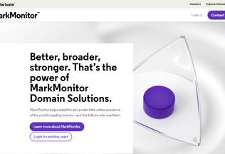 Website markmonitor.com desktop preview