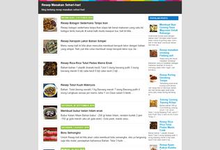 Website masakan-dapur-bunda.blogspot.com desktop preview