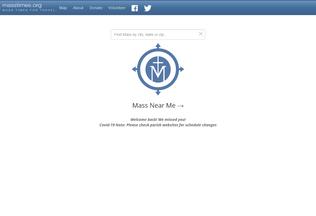 Website masstimes.org desktop preview