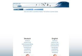 Website memegroup.org desktop preview