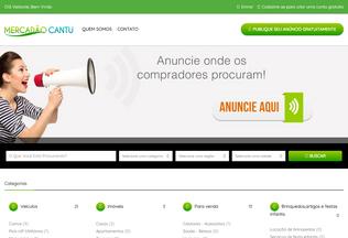 Website mercadaocantu.com.br desktop preview