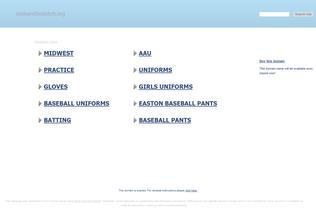 Website midwestfastpitch.org desktop preview
