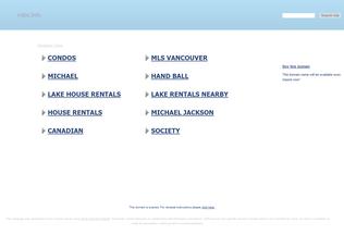 Website mjbc.info desktop preview