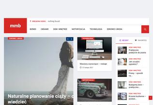 Website mmb-meble.pl desktop preview
