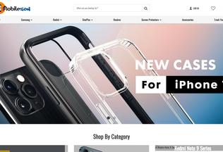 Website mobilezon.in desktop preview