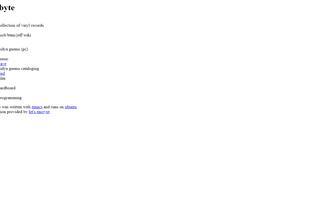 Website mobyte.org desktop preview