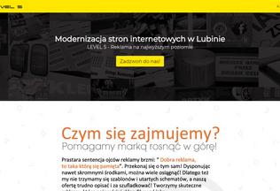 Website modernizacjastron.lubin.net.pl desktop preview