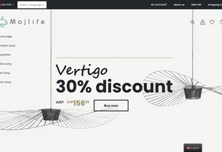 Website mojlife.ch desktop preview