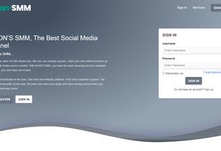 Website monssmm.com desktop preview