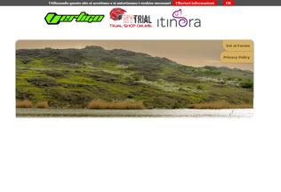 Website motoalpinismo.it desktop preview