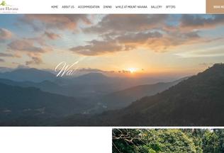 Website mounthavana.com desktop preview