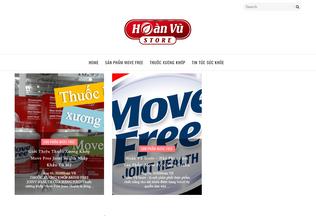 Website movefreestore.blogspot.com desktop preview