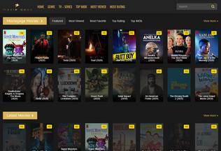 Website moviegaga.pro desktop preview