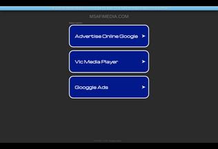 Website msafimedia.com desktop preview