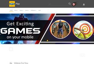 Website mtnplay.co.zm desktop preview