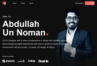 Website musanna.tk desktop preview