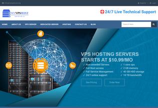 Website myvpshost.org desktop preview