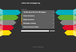 Website nation-star-mortgage.org desktop preview