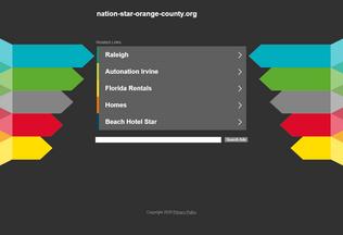 Website nation-star-orange-county.org desktop preview