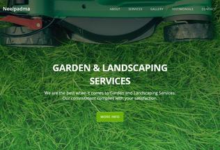 Website neelpadma.in desktop preview