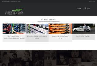 Website netsyss.sk desktop preview