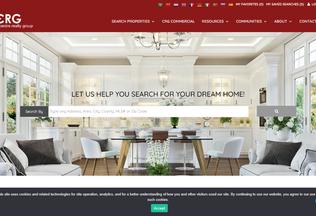 Website newtoncentrerealty.com desktop preview