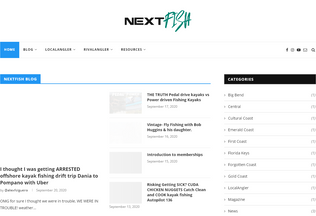 Website nextfish.co desktop preview